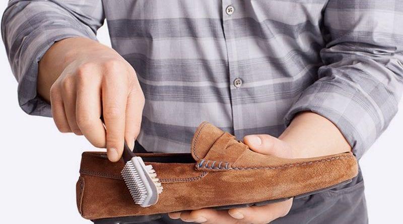 Как вернуть привлекательный вид замшевым кроссовкам