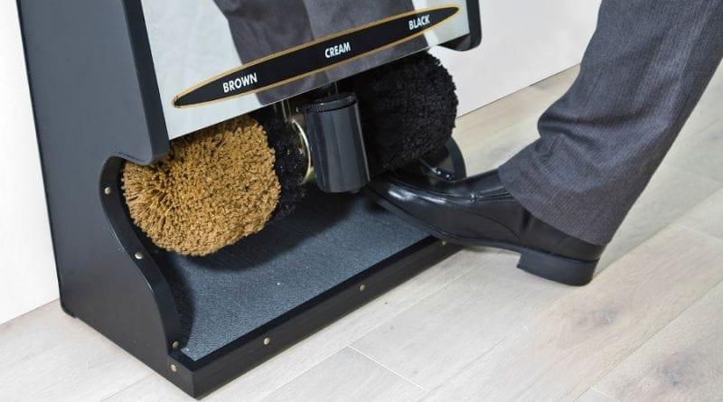 Автоматическая чистка обуви