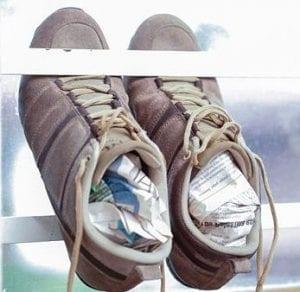 Как растянуть обувь из текстиля