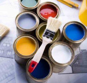 Строительные краски на одежде