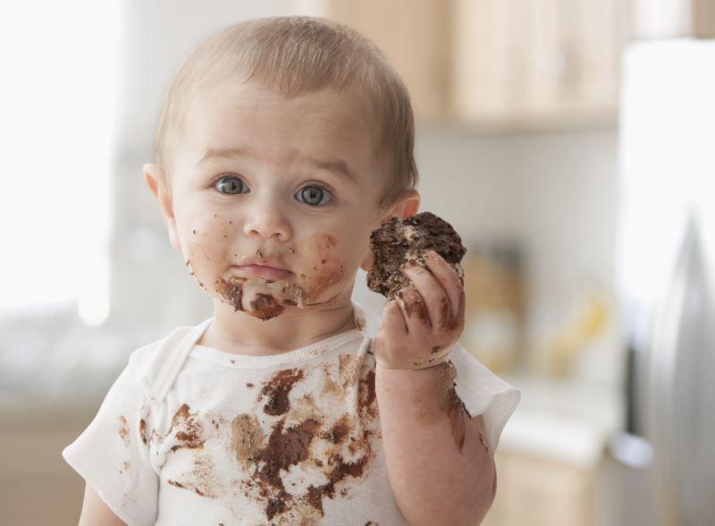 Как отстирать пятно от шоколада