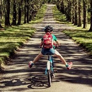 Чем полезен велосипед для детей