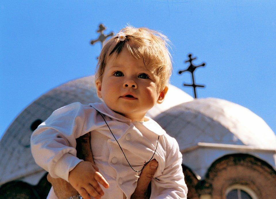 Крещение ребёнка