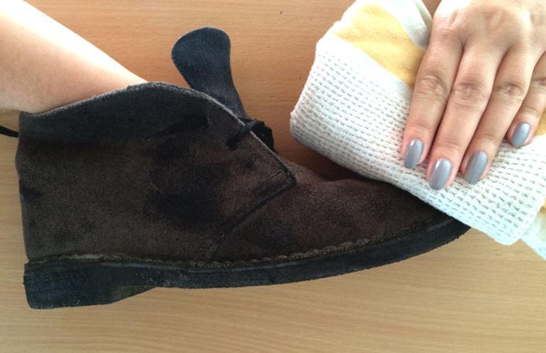 Шаг 1: вернуть чистоту обуви