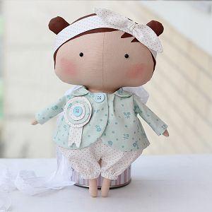 Мягкая кукла Тильда