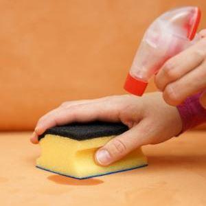 Как убрать йодное пятно с обивки