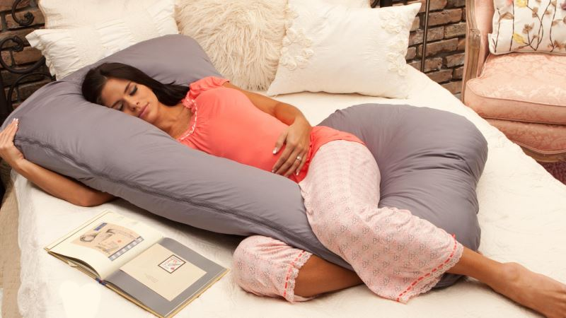 Инструкция по выбору и использованию подушки для беременных