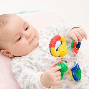 Rattles for a newborn baby
