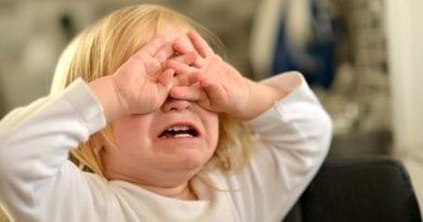 Истерики у ребёнка 3 лет
