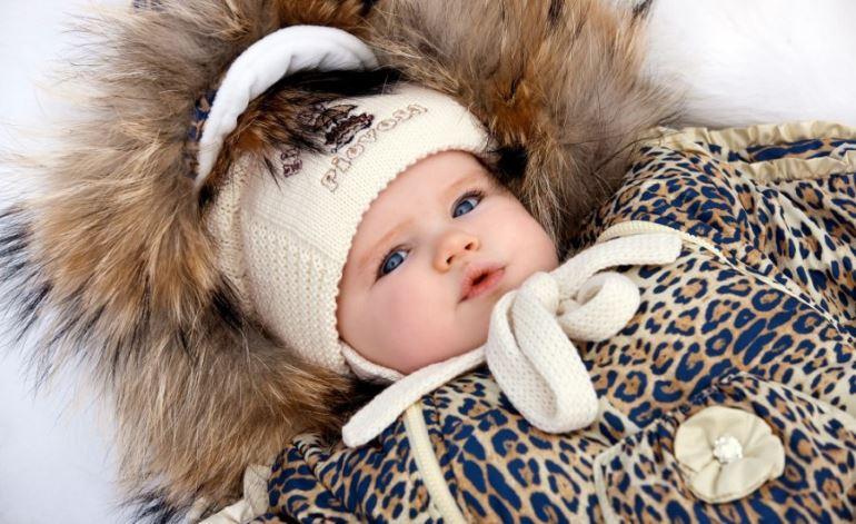 Прогулка с новорождённым в зимнее время