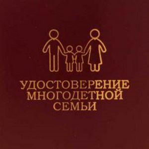 Как оформить статус многодетной семьи