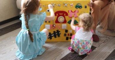 Бизиборд – умная доска для маленького ребёнка своими руками