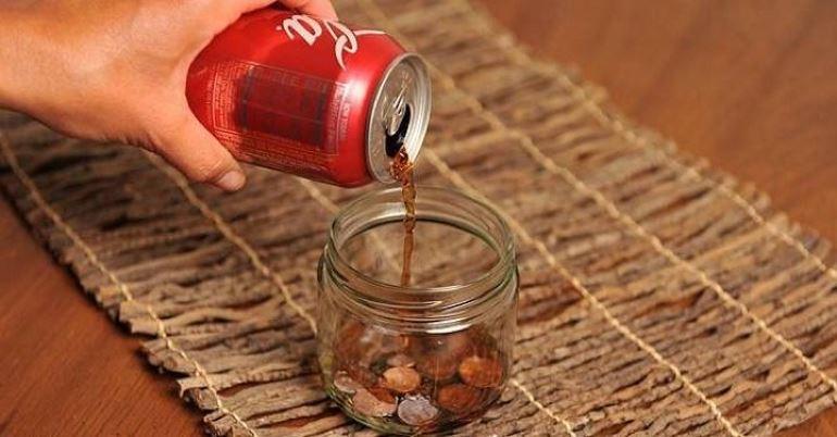Шипучая «Кока-Кола»