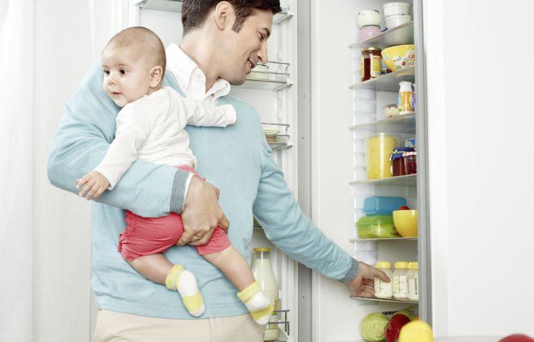 Помещаем в холодильник