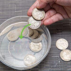 Лимонная кислота для чистоты и сияния медных монет