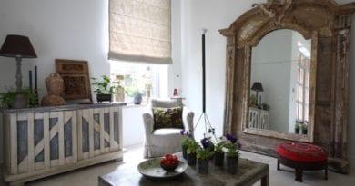 Старинное зеркало в доме
