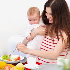 Питание матери при детских коликах