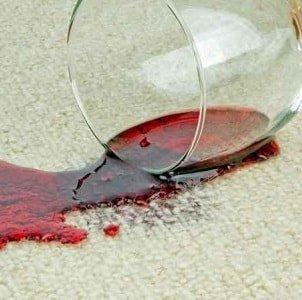 Сложные пятна на ковре
