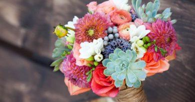 Составление цветочного букета