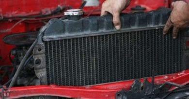 Как чистить автомобильный радиатор