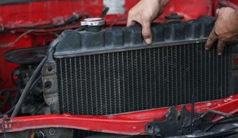 Очистка радиатора и системы охлаждения автомобиля внутри и снаружи