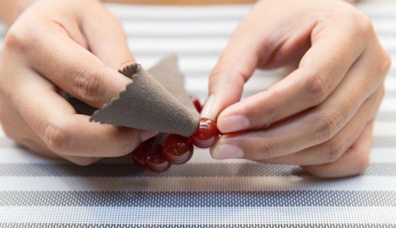 Способы полировки янтаря
