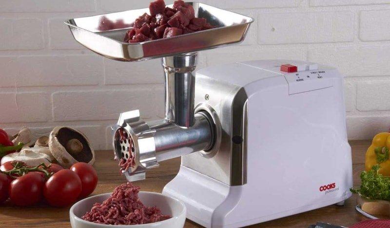 Специфика работы электрической модели мясорубки