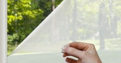 Как убрать пленку с окна