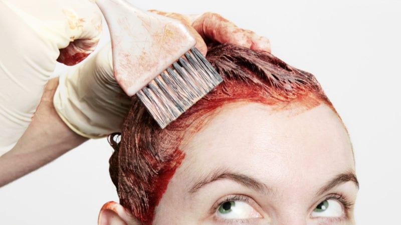 Как легко отмыть краску для волос