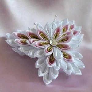 A little history of kanzashi for hair hair