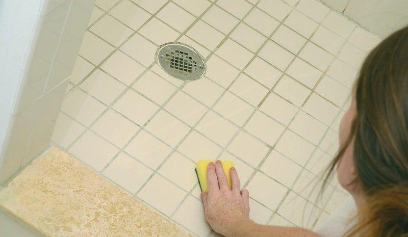 Как убрать грибок в ванной комнате