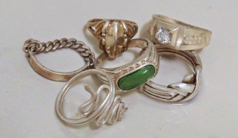 Основные факторы пожелтения серебряных изделий