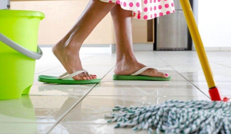 Как мыть полы