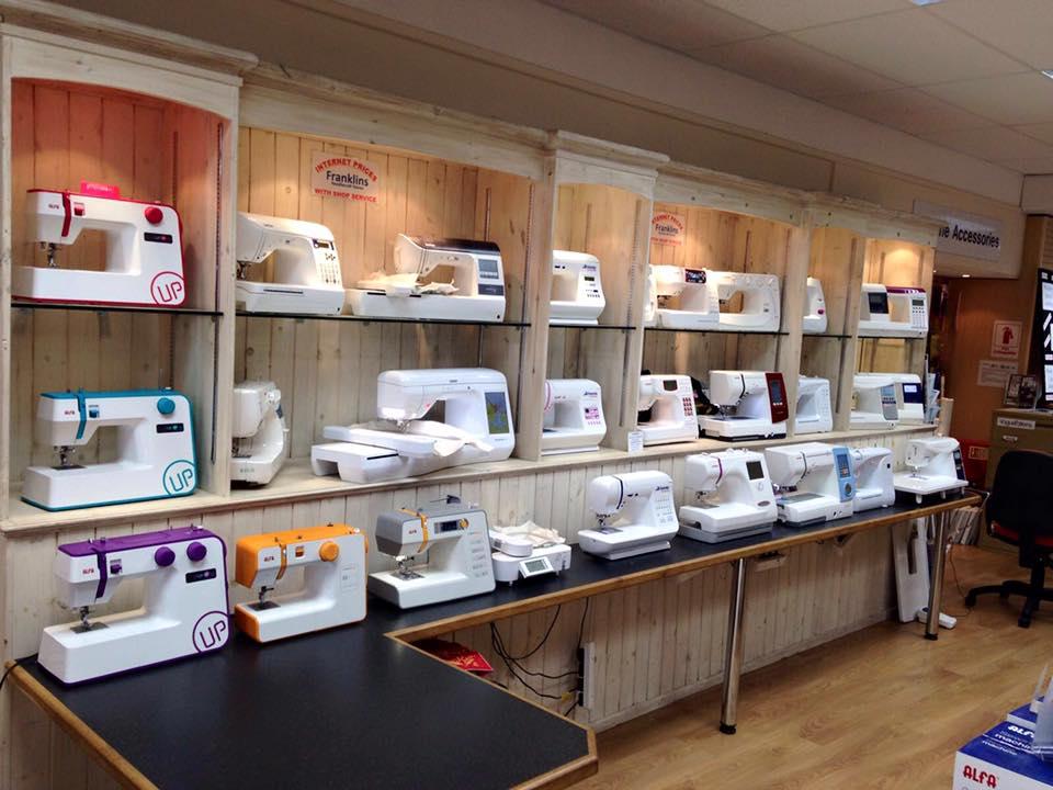 Подготовка к выбору швейной машинки