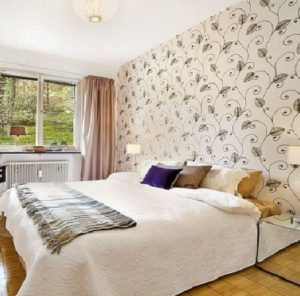 What wallpaper to choose in the bedroom