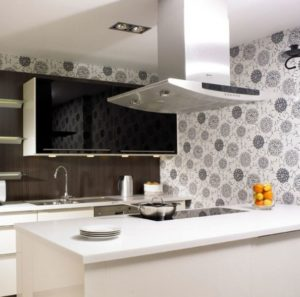 What wallpaper to choose for the kitchen