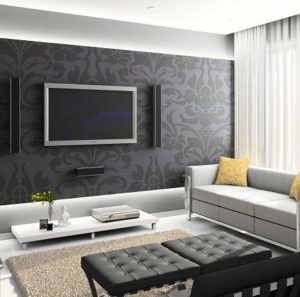 How to choose a wallpaper for the living room