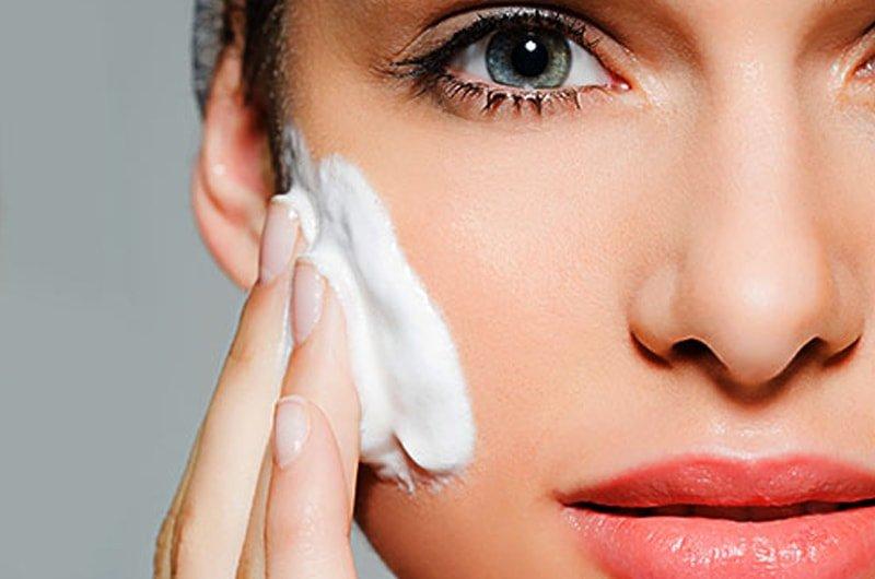 Народные средства для очищения кожи лица