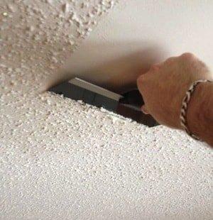 Готовим потолок к шпаклёвке