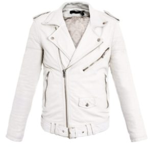 Как почистить белую кожаную куртку