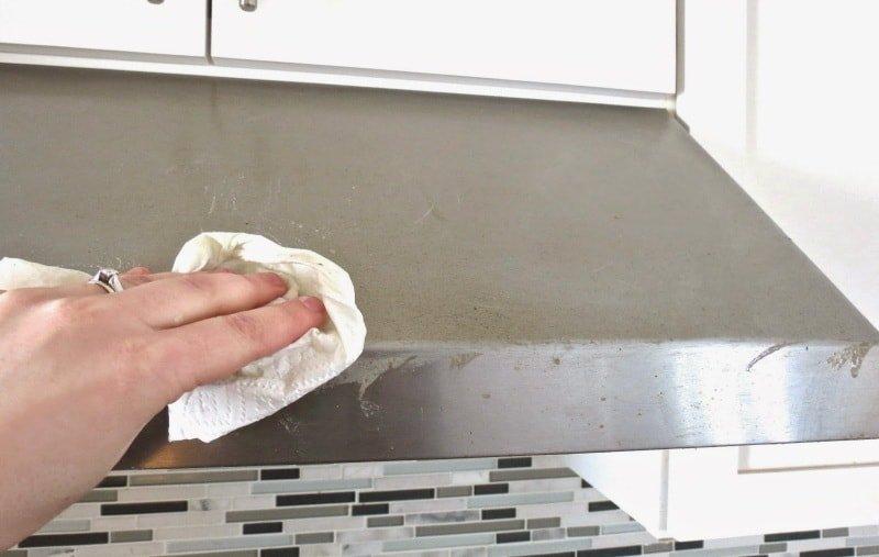 Некоторые простые советы для очистки вытяжки