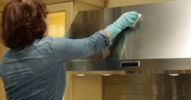 Как чистить вытяжку