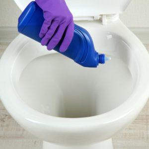 Химические средства для очистки унитаза