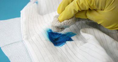 Как отмыть пятна от чернил