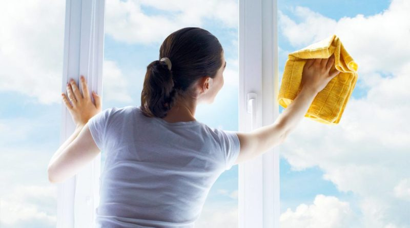 Как мыть пластиковые окна
