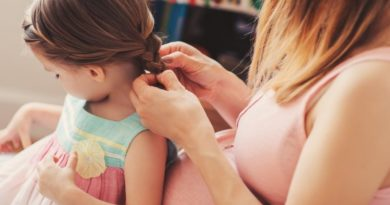 Делать прическу ребенку