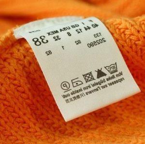 Какие знаки для стирки на одежде существуют