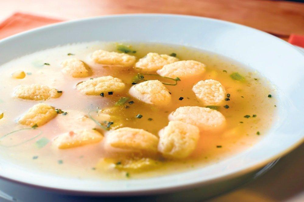 Как готовить суп с клецками