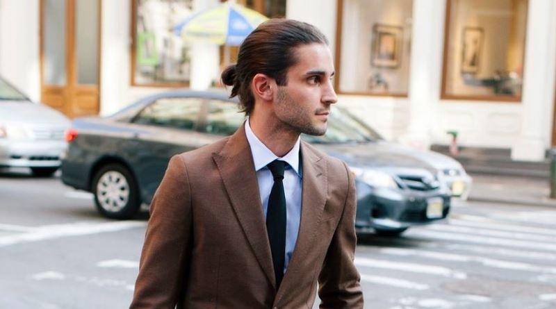 Fashionable men's haircuts