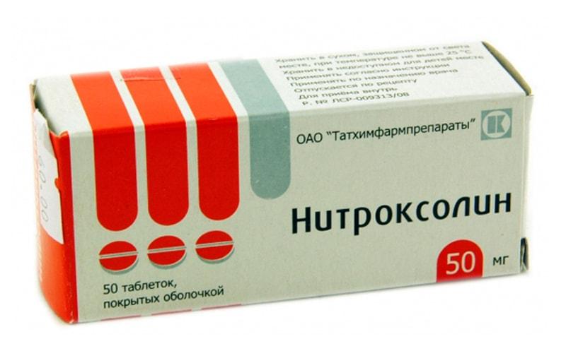 нитроксолин при цистите